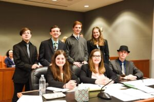 The Bottaro Law Firm Lends a Helping Hand - the Toll Gate Mock Trial team